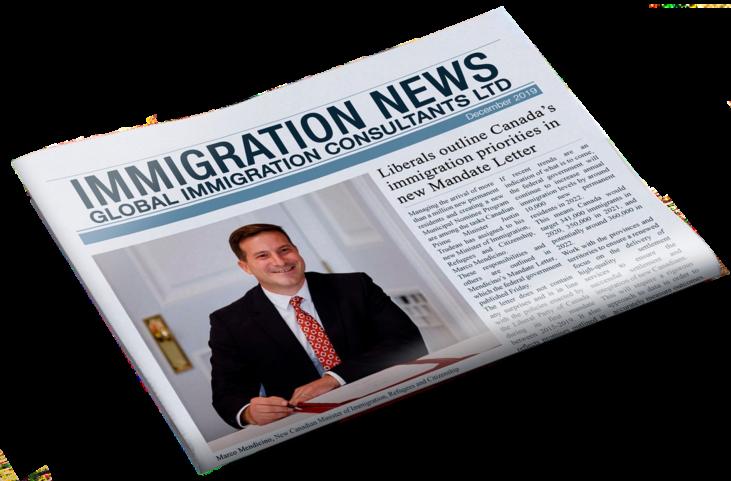 Bài báo Thư ủy nhiệm Bộ trưởng nhập cư Canada Plaza