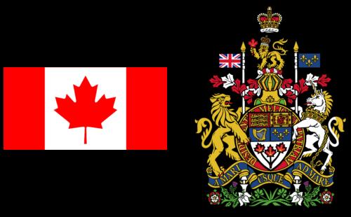 Cờ Canada - Phù hiệu áo giáp Canada