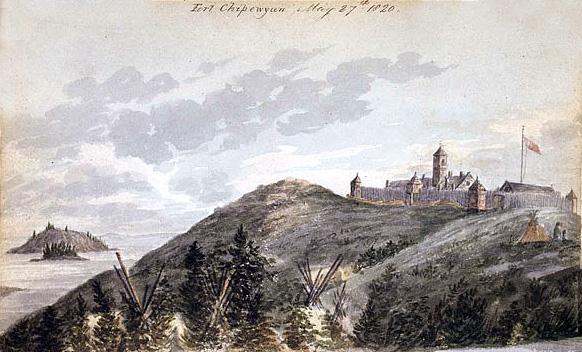 1820 george back fort chipewyan