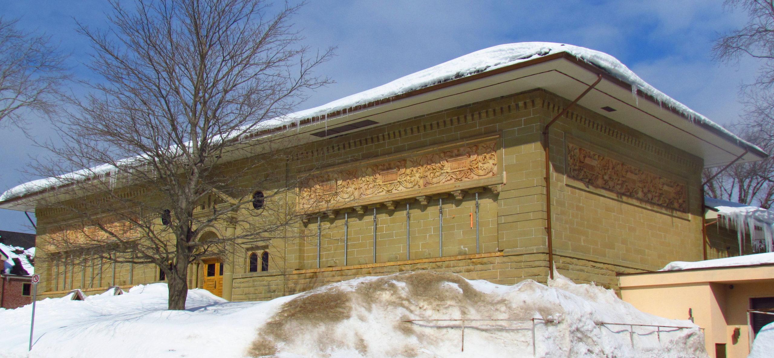 Canada Plaza - Giới thiệu tỉnh bang New Brunswick-Owens_Art_Gallery,_Mount_A