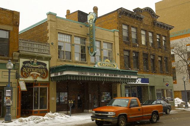 Canada Plaza - Giới thiệu tỉnh bang New Brunswick - theatre Capitol Moncton