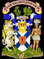 Coat of arms of Nova Scotia