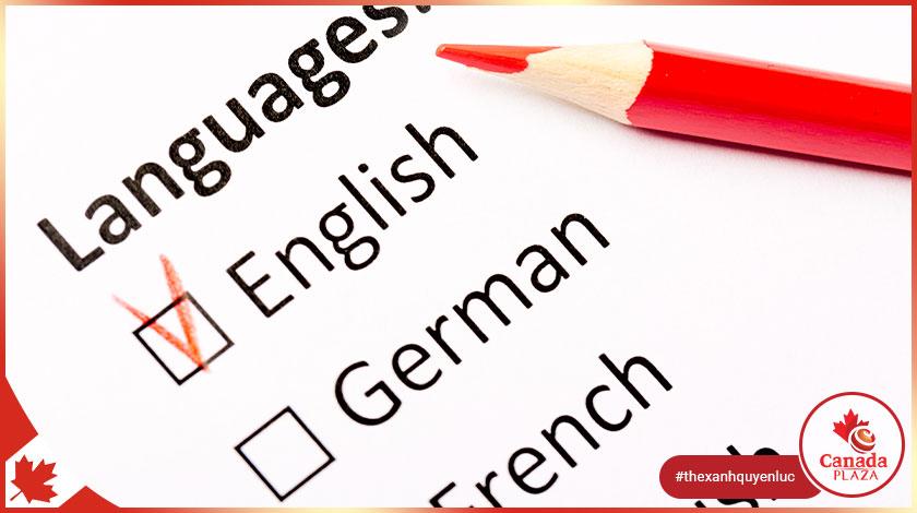 Một số chương trình nhập cư không yêu cầu cung cấp bản gốc kết quả kiểm tra ngôn ngữ 1