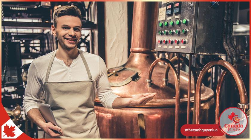 [VIỆC LÀM CANADA] Công nhân vận hành máy - Nhà máy bia (Machine Operator - Beer Factory)