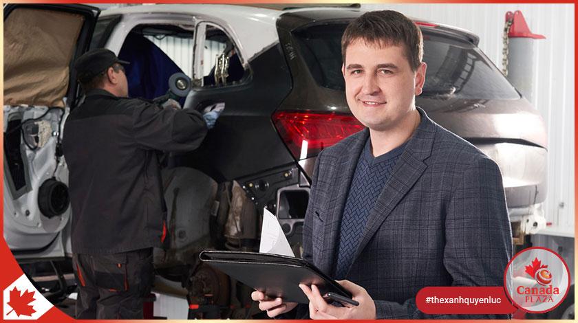 [VIỆC LÀM CANADA] Giám sát viên sửa xe (Automotive Supervisor)