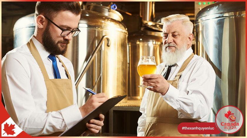 [VIỆC LÀM CANADA] Kiểm định chất lượng - Nhà máy bia (Quality Tester - Beer Factory)