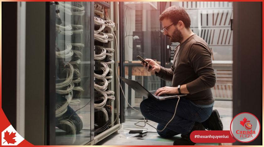 Việc làm Canada - Kỹ sư mạng máy tính -Computer Network Support 1