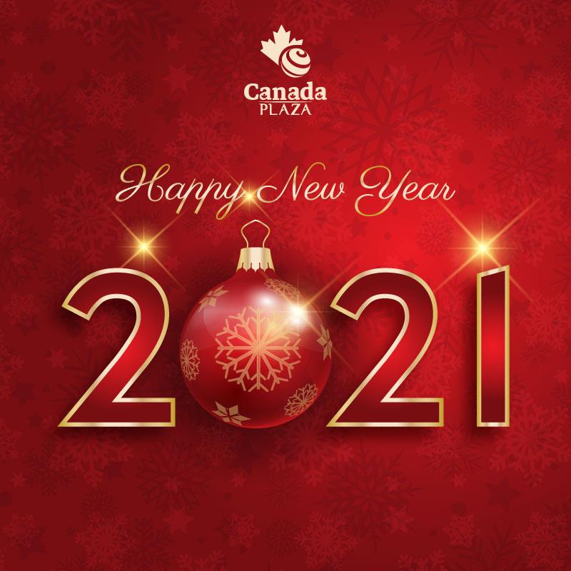 Happy New Year Pop-up