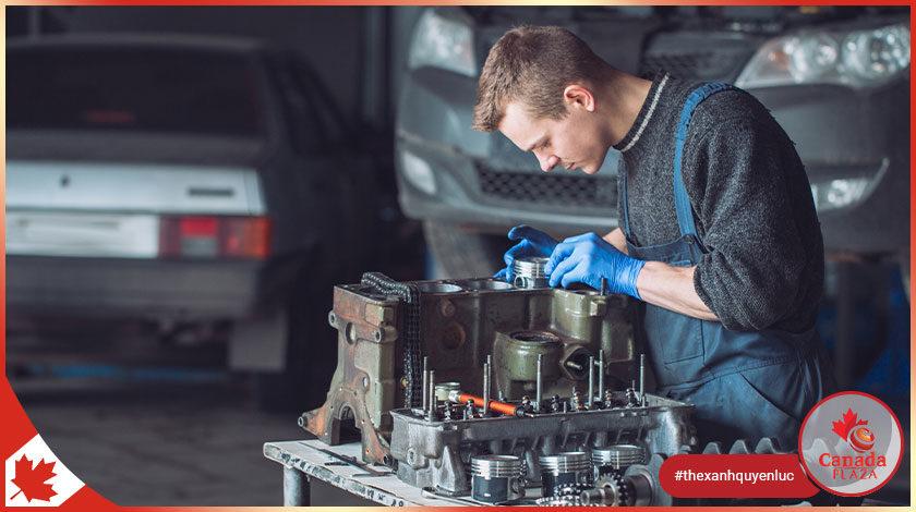 Việc làm tại Canada Kỹ thuật viên cơ khí (Mechanical Technician)