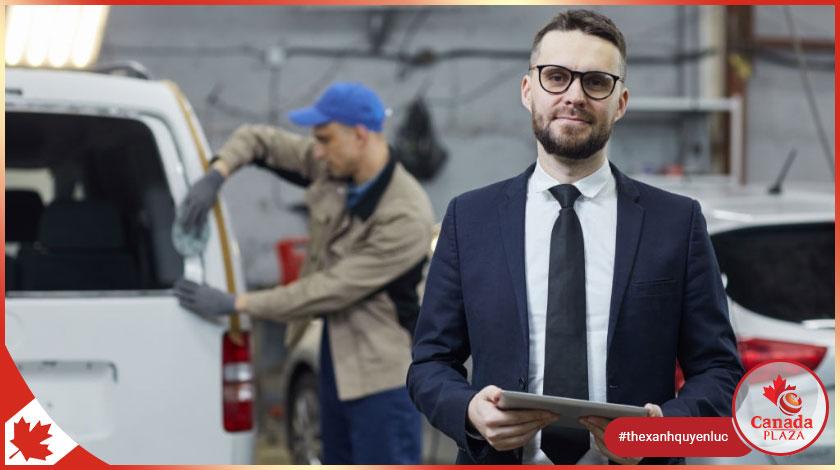 Việc làm tại Canada Giám sát rửa xe (Car wash supervisor)