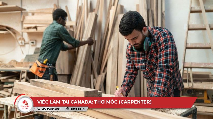 Việc làm tại Canada - Thợ mộc (Carpenter)