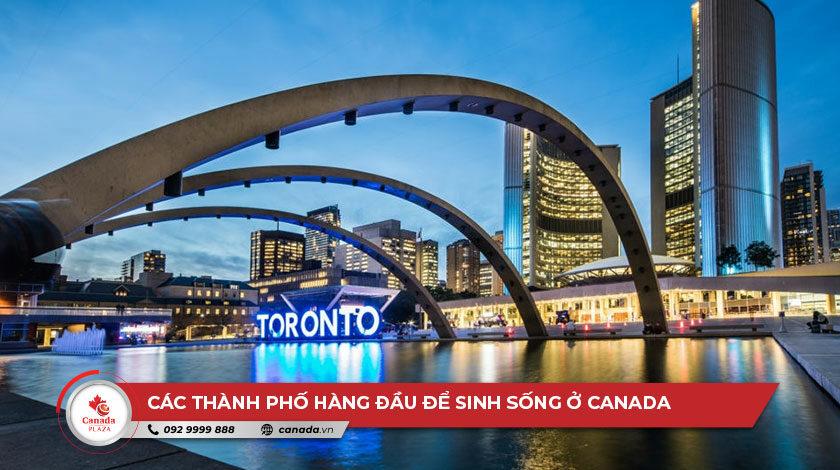 Các thành phố hàng đầu để sinh sống ở Canada