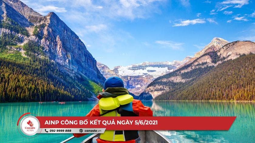Chương trình đề cử tỉnh bang Alberta (AINP) công bố kết quả ngày 5/6/2021