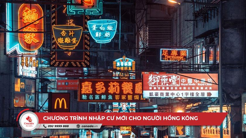 Hai chương trình nhập cư mới cho người Hồng Kông