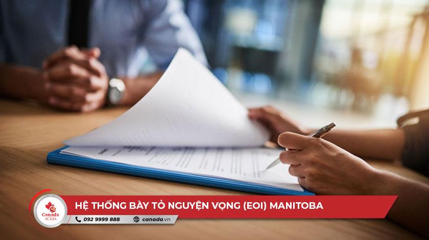 Hệ thống bày tỏ nguyện vọng (EOI) Manitoba