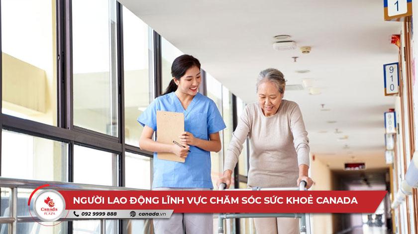 lĩnh vực chăm sóc sức khoẻ Canada