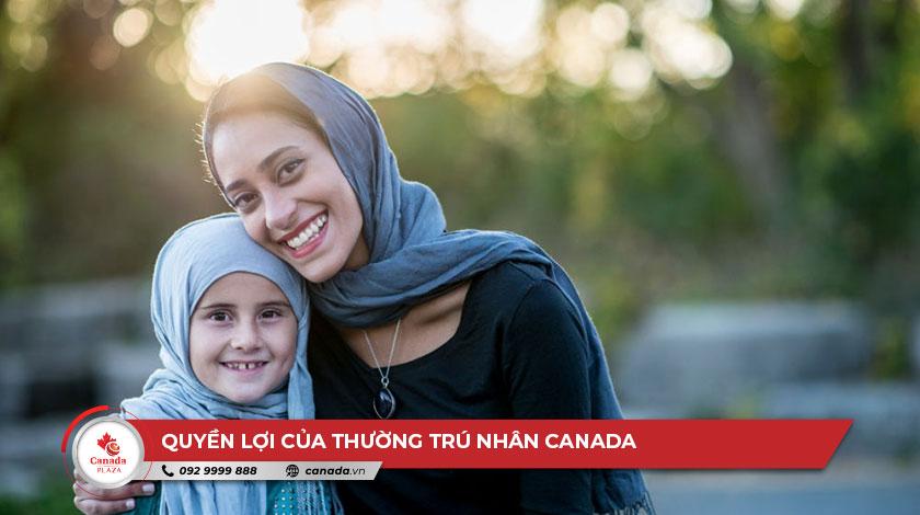 Quyền lợi của thường trú nhân Canada