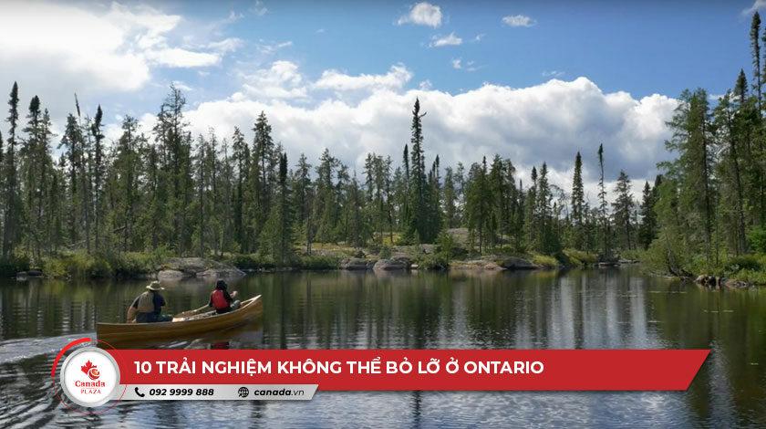 10 trải nghiệm không thể bỏ lỡ ở Ontario
