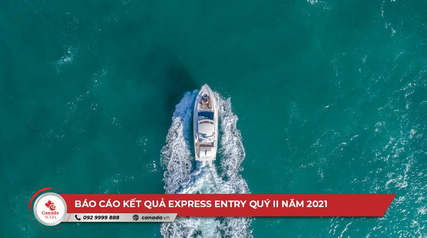 Báo cáo kết quả Express Entry Quý II năm 2021