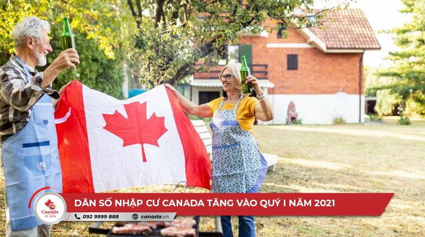 Dân số nhập cư Canada tăng vào quý I năm 2021