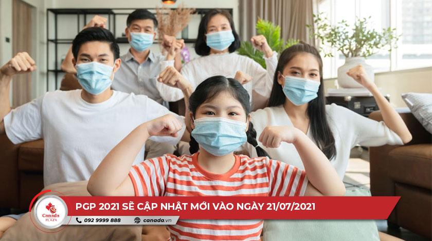 PGP 2021 sẽ được cập nhật vào ngày 20/7/2021