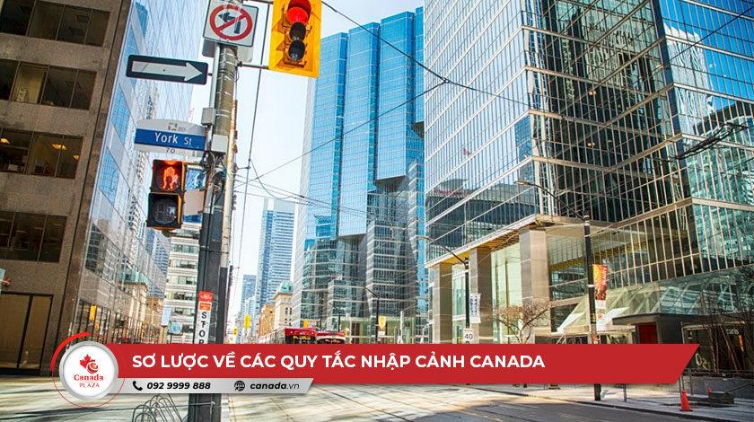 Sơ lược về các quy tắc nhập cảnh Canada