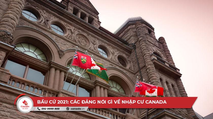 Bầu cử năm 2021: Các đảng nói gì về nhập cư Canada