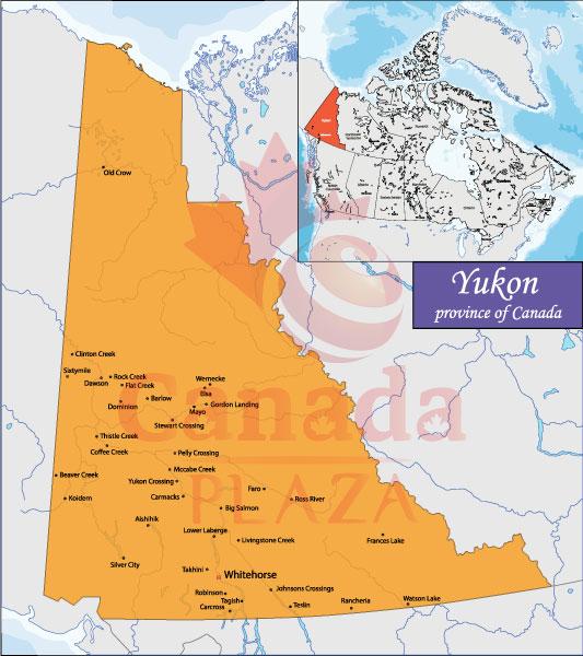 Bản đồ Yukon