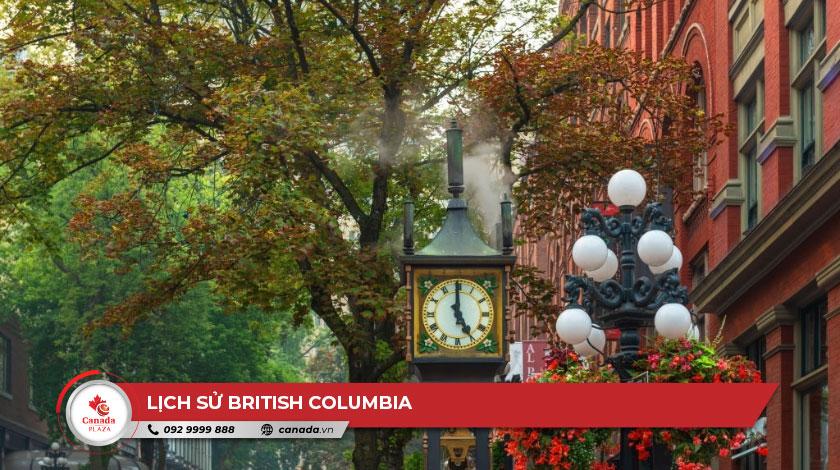 Lịch sử British Columbia 1