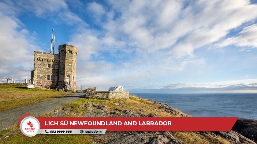 Lịch sử Newfoundland and Labrador 1