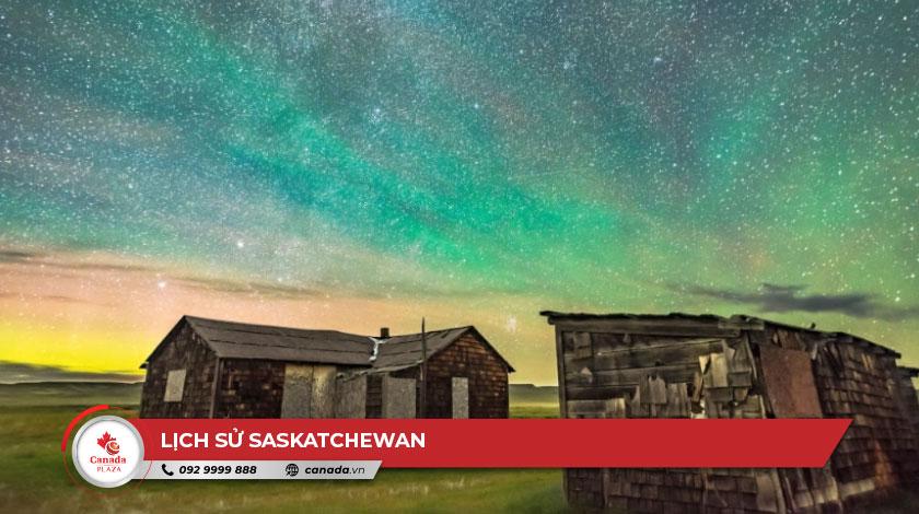 Lịch sử Saskatchewan