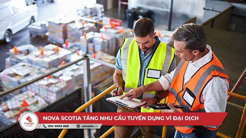 Nova Scotia tăng nhu cầu tuyển dụng vì đại dịch