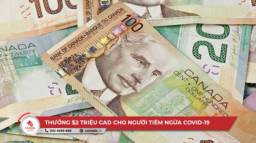 Thưởng $2 triệu CAD cho người tiêm ngừa COVID-19 tại Quebec